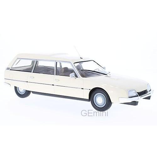 1 18 voiture miniature de collection citroen cx 2500d super break s rie i beige 1976 mdg18088. Black Bedroom Furniture Sets. Home Design Ideas