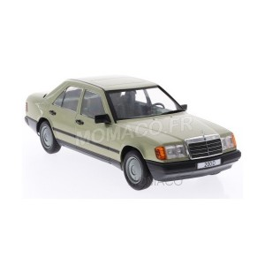1/18 MERCEDES-BENZ 200D (W124) 1984 VERTE-MODEL-CAR-GROUPE-MCG18205