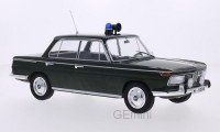 1/18 VOITURE MINIATURE DE COLLECTION BMW 2000 TI police-1966-MDG18042