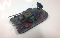 1/72 MINIATURE CHAR MILITAIRE-MILITARY TANK WW2 Flakpanzer Gepard Germany-IXO