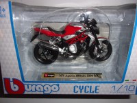 1/18 MOTO MINIATURE DE COLLECTION MV AGUSTA BRUTALE 1090RR-BURAGO