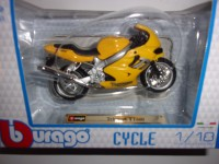 1/18 MOTO MINIATURE DE COLLECTION TRIUMPH TT600-BURAGO