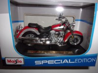 1/18 MOTO MINIATURE DE COLLECTION YAMAHA 2001 ROAD STAR-SPECIALE EDITION-MAISTO