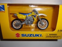 1/18 MOTO MINIATURE DE COLLECTION SUZUKI RM-Z450 MOTOCROSS-NEWRAY