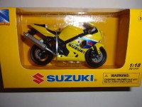 1/18 MOTO MINIATURE DE COLLECTION SUZUKI GSX-R600-NEWRAY