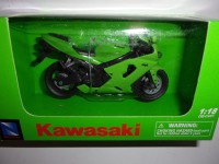 1/18 MOTO MINIATURE DE COLLECTION KAWASAKI NINJA ZX-6RR-NEWRAY