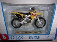 1/18 MOTO MINIATURE DE COLLECTION SUZUKI RM-Z450-BURAGO