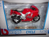 1/18 MOTO MINIATURE DE COLLECTION KAWASAKI NINJA ZX-7R-BURAGO