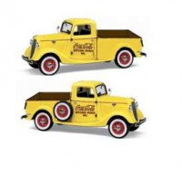 1/24 VEHICULE MINIATURE FORD PICK-UP 1937 COCA-COLA-MOTORCITYMCITY433213