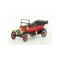 1/18 VOITURE MINIATURE FORD MODEL T ROADSTER CONVERTIBLE 1917 ROUGE-MOTORCITYMCITY88141