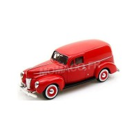 1/24 VOITURE MINIATURE DE COLLECTION FORD SEDAN DELIVERY 1940 ROUGE-MOTORMAXMMAX73250RD