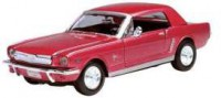 1/24 VOITURE MINIATURE DE COLLECTION Ford Mustang rouge-1964-MOTORMAXMTM73273R
