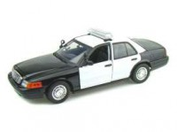 1/18 VOITURE FORD CROWN VICTORIA INTERCEPTOR CITY POLICE-2001-MOTORMAXMMAX73516