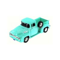 1/24 VEHICULE UTILITAIRE MINIATURE Ford F100 pickup turquoise-1955-MOTORMAXMTM79341GRN