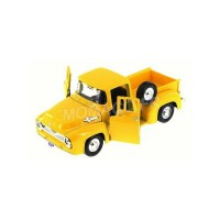 1/24 VEHICULE UTILITAIRE MINIATURE DE COLLECTION Ford F100 pickup jaune-1955-MOTORMAXMTM79341YEL