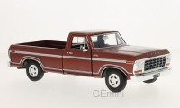 1/24 VEHICULES UTILITAIRES Ford F150 Douane metallic marron-1979-MOTORMAXMTM79346AC-BROWN