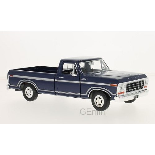 1 24 vehicules utilitaires ford f150 douane bleu 1979 motormaxmtm79346ac blue vente de. Black Bedroom Furniture Sets. Home Design Ideas