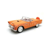 1/24 VOITURE MINIATURE DE COLLECTION FORD THUNDERBIRD 1956 ORANGE-MOTORMAXMMAX73215OR