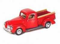 1/24 VEHICULE UTILITAIRE MINIATURE FORD PICK-UP 1940 ROUGE-MOTORMAXMMAX73234RD