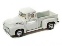 1/24 VEHICULE UTILITAIRE MINIATURE FORD F100 PICK-UP 1956 BEIGE-MOTORMAXMMAX73235BG
