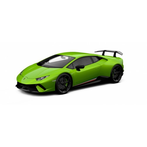 1 18 voiture miniature de collection lamborghini huracan performance verte mante jantes noires. Black Bedroom Furniture Sets. Home Design Ideas