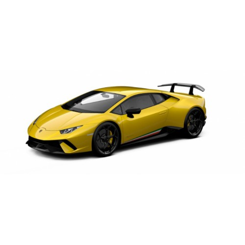 1 18 voiture miniature de collection lamborghini huracan performance jaune inti perl jantes. Black Bedroom Furniture Sets. Home Design Ideas