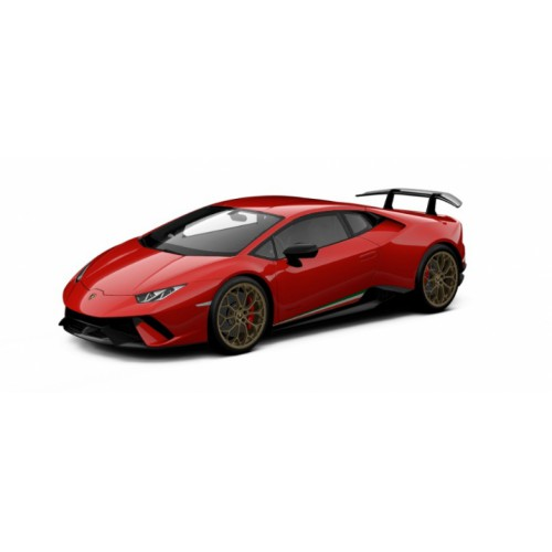 1 18 voiture miniature de collection lamborghini huracan performance rouge mars jantes bronze. Black Bedroom Furniture Sets. Home Design Ideas