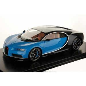 1/8 BUGATTI MINIATURE DE COLLECTION Bugatti Chiron Le Patron / bleu clair Bugatti sport-2016-MRCOLLECTIONMODELS-MRC8-01