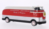1/43 VEHICULE MINIATURE CAMION GENERAL MOTORS Futurliner argent/rouge-1941-NEO