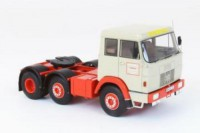 1/43 CAMION MINIATURE DE COLLECTION Hanomag Henschel F211 beige/rouge-1967-NEO45311