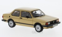 1/43 VW VOLKSWAGEN VOITURE MINIATURE DE COLLECTION Volkswagen Jetta I beige-1980-NEO43579