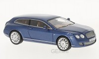 1/43 Bentley Continental VOITURE MINIATURE DE COLLECTION Bentley Continental flying Star Touring bleu-2010-NEO44217