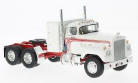 1/43 CAMION MINIATURE DE COLLECTION Dodge CNT 950 blanc/rouge-1974-NEO