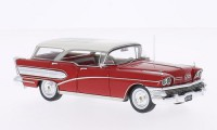 1/43 Buick century VOITURE MINIATURE DE COLLECTION Buick century Caballero rouge/blanc-1958-NEO45001
