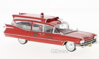 1/43 VEHICULES DE SECOURS MINIATURE Cadillac Series 75 S&S superior Ambulance-1959-NEO45262