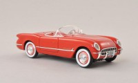 1/43 CHEVROLET VOITURE MINIATURE DE COLLECTION Chevrolet Corvette C1 rouge-1953-NEO45745