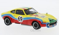 1/43 OPEL VOITURE MINIATURE DE COLLECTION Opel GT Steinmetz #69 GP Nurburgring-1972-NEO45806