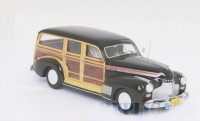 1/43 Chevrolet Woody VOITURE MINIATURE DE COLLECTION Chevrolet Woody noir/bois-1941-NEO45840