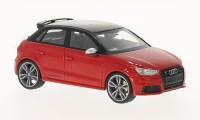 1/43 Audi S1 VOITURE MINIATURE DE COLLECTION Audi S1 Sportback rouge/noir-2014-NEO46421