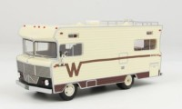 1/43 CAMPING-CAR MINIATURE DE COLLECTION Winnebago Brava camping car beige/brun-1973-NEO46630