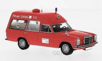 1/43 MERCEDES-BENZ VEHICULES DE SECOURS AMBULANCE Mercedes 220 D (W115) Ambulance-NEO47155