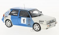 1/43 GOLF VOITURE MINIATURE DE COLLECTION Volkswagen Golf test rallye-1989-NEO49548