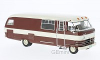 1/43 VEHICULE MINIATURE DE COLLECTION Dodge Travco camping car marron-1963-NEO46308