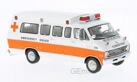 1/43 VEHICULE DE SECOURS MINIATURE DE COLLECTION Dodge Horton ambulance-NEO46941