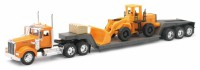 1/32 CAMION MINIATURE DE COLLECTION Kenworth W900 avec tractopelle-New RayNWR10623