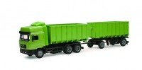 1/43 CAMION MINIATURE DE COLLECTION Man F2000 double benne (couleur variable)-New RayNWR15043