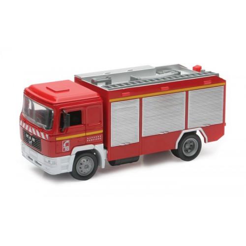 1 43 camion vehicules de secours miniature de collection man pompier new raynwr15083 vente de. Black Bedroom Furniture Sets. Home Design Ideas
