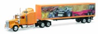 1/43 CAMION MINIATURE DE COLLECTION Kenworth W900 container 40 Monster truck-New RayNWR15333T