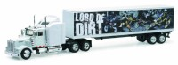 1/43 CAMION MINIATURE DE COLLECTION Kenworth W900 container 40 Lord of dirt-New RayNWR15333U