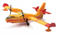 AVION MINIATURE DE COLLECTION SECURITE Bombardier CL-415 Canadair-New RayNWR20603